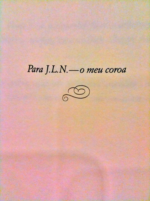Elizabeth Gilbert's novel Committed is dedicated para J.L.N.