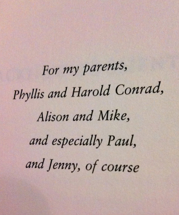 Dedication in Making Love to the Minor Poets of Chicago by James Conrad