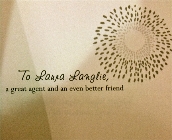 "Dedication in Ready or Not by Meg Cabot: ""To Laura"""