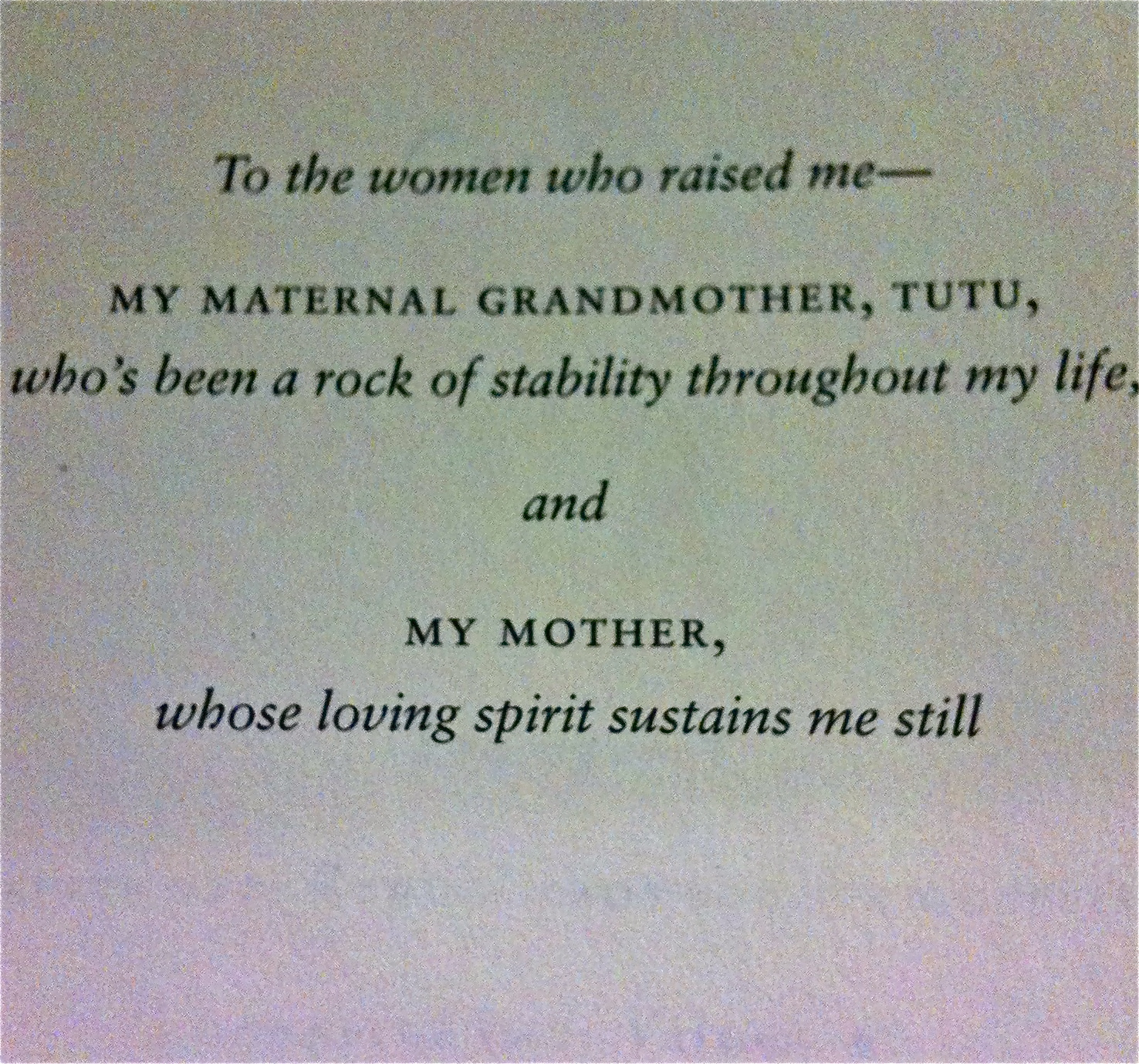 Dedication in The Audacity of Hope by @BarackObama To the women who ...