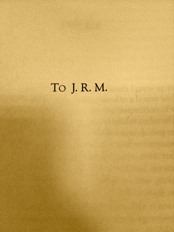 Margaret Mitchell dedicated Gone With the Wind to J.R.M.